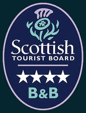 Scottish Toursit Board 4star award